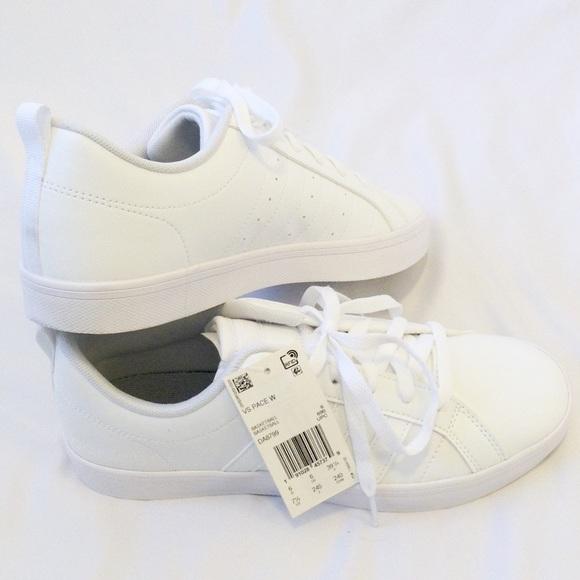le adidas bianco di moda vs ritmo le donne scarpe nwt poshmark